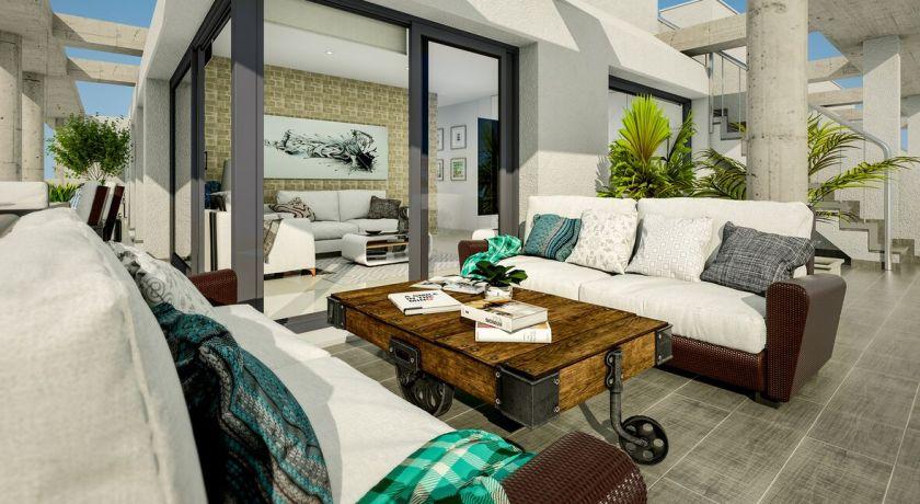 Апартаменты с 3 спальнями от застройщика POLONIA VIII 150 метров до пляжа ЛОС ЛОКОС от 139.000 €  PM-12 - квартира в Torrevieja (Alicante)