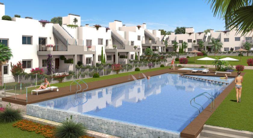 Апартаменты на нижних этажах от застройщика в резиденции SOL PARK в престижном районе Агуас Нуэвас. Ref:PM-26 - квартира в Torrevieja (Alicante)