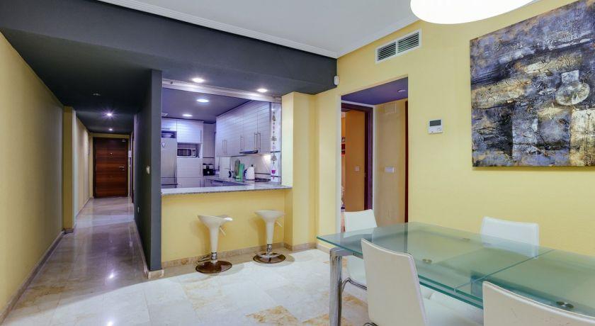Шикарная квартира с 3 сп на первой линии моря и пляжа Дель Кура с прямым видом на мореCalas 50 - квартира в Torrevieja (Alicante)